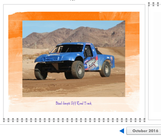 2016 Calendar VORE Off-Road