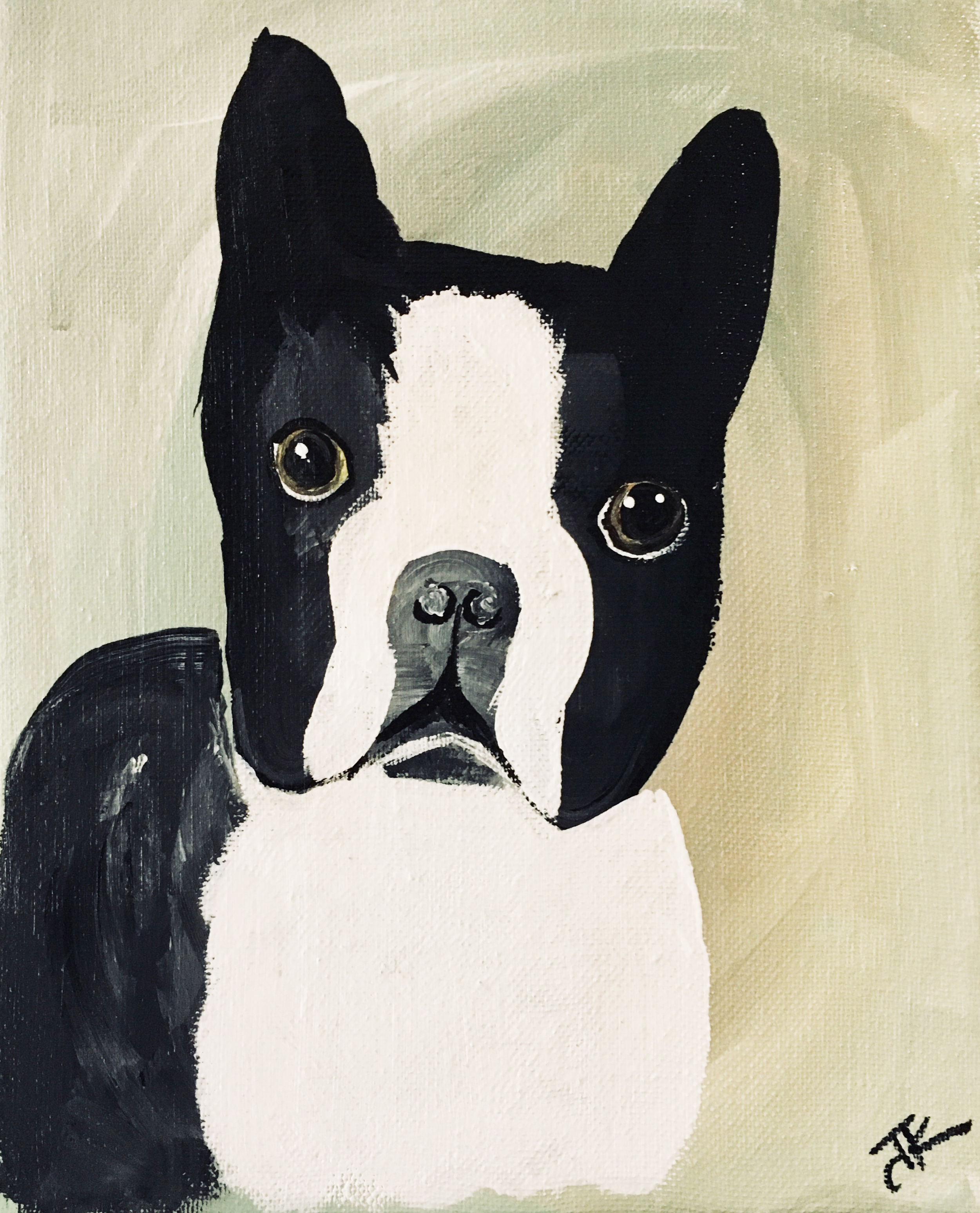 Dog Paintings Collection